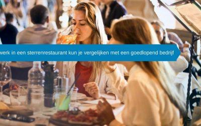 Sterwaardig: Het werk in een sterrenrestaurant kun je vergelijken met een goedlopend bedrijf.