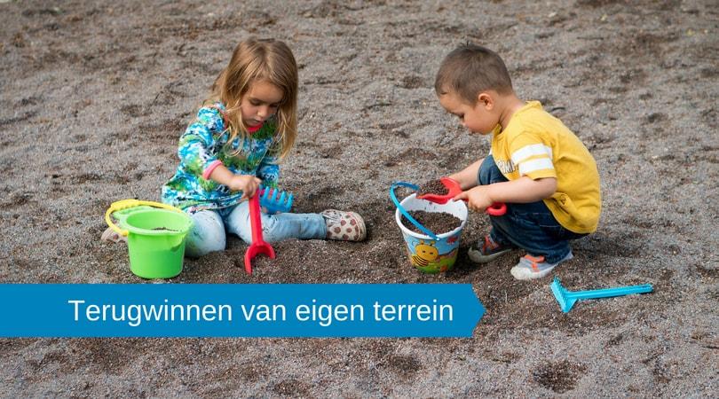 Terugwinnen van eigen terrein: is dat een speeltuin of kantoortuin?