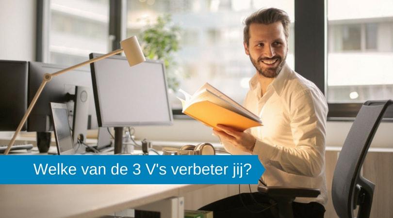 Welke V wil jij verbeteren: Vitaliteit, Vakmanschap of Veerkracht?