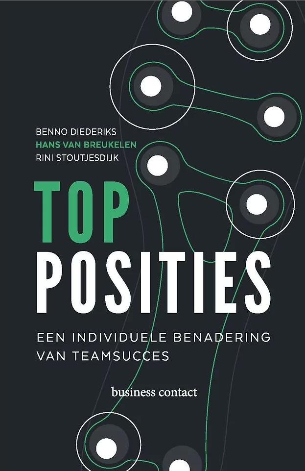 boekomslag topposities - Van Breukelen Diederiks Stoutjesdijk